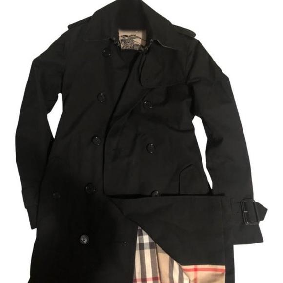 Burberry Ggburlimcas Trench Coat - Size 2 (XS)